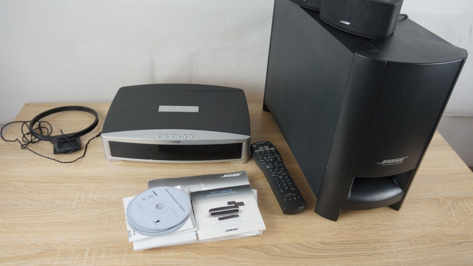 bose 321 3 2 1 gsx series iii heimkino system mit. Black Bedroom Furniture Sets. Home Design Ideas