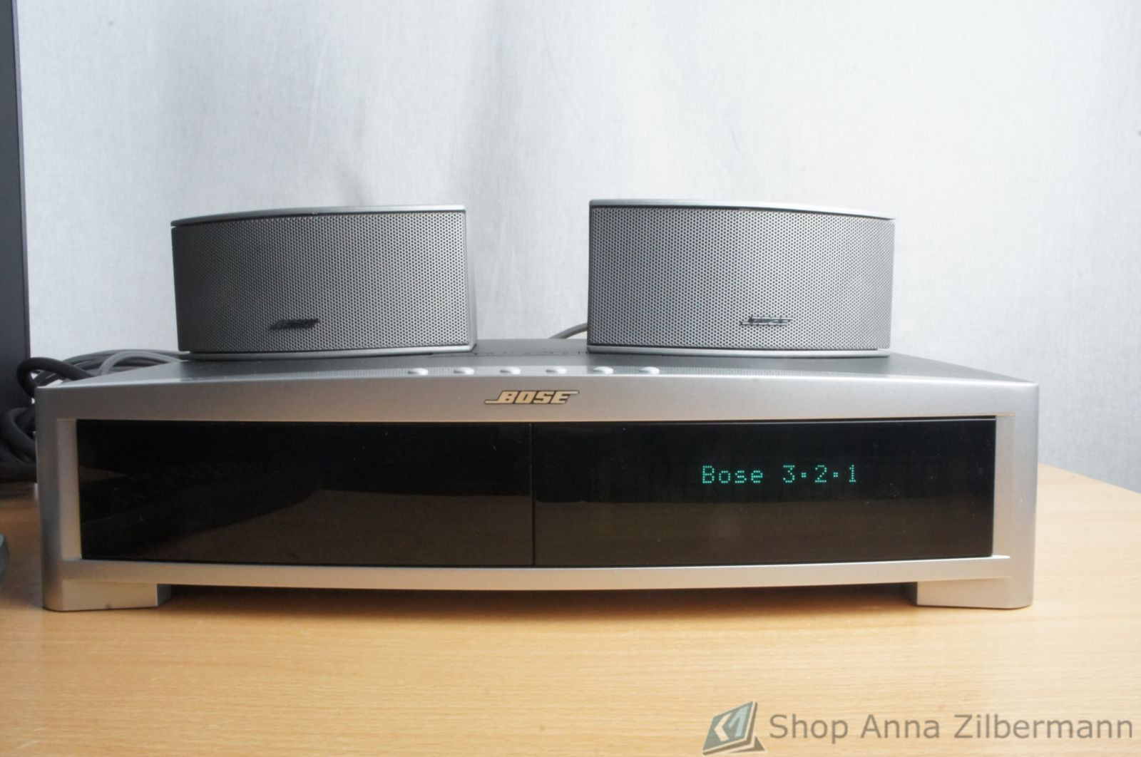 bose 321 3 2 1 gs series ii heimkino system ebay. Black Bedroom Furniture Sets. Home Design Ideas