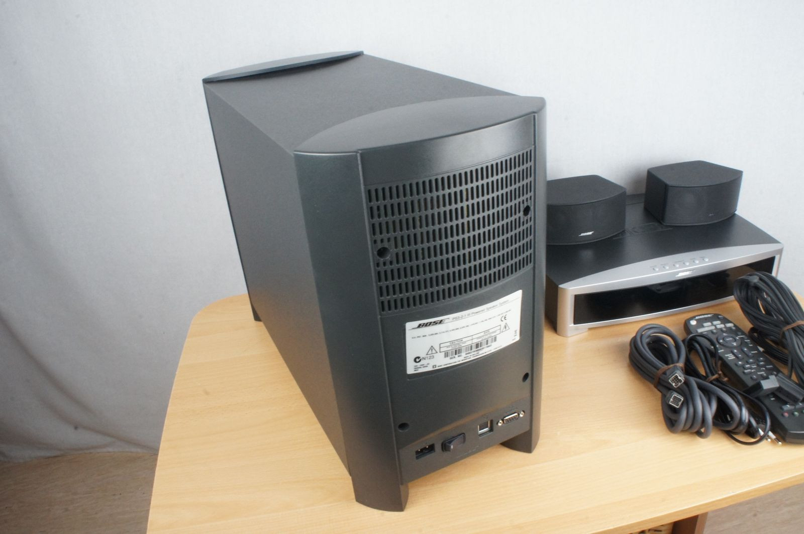 bose 321 3 2 1 gs series iii home cinema sistema con hdmi. Black Bedroom Furniture Sets. Home Design Ideas