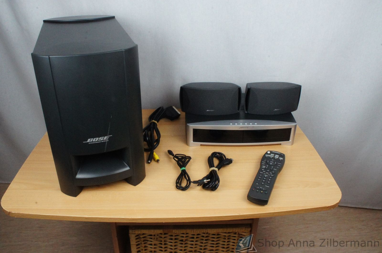 bose 321 3 2 1 series ii heimkino system ebay. Black Bedroom Furniture Sets. Home Design Ideas