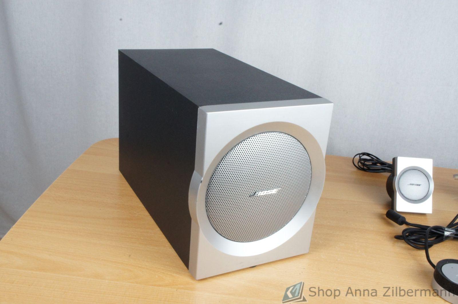 bose companion 3 multimedia lautsprecher system ebay. Black Bedroom Furniture Sets. Home Design Ideas